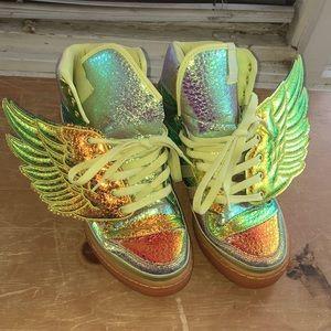 Jeremy Scott Foil Wings